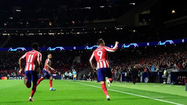 Poussif mais efficace, l'Atlético fonce vers les 8es