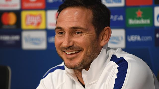 Lampard rejects Ajax comparisons, laughs off suggestion Chelsea are 'scared'
