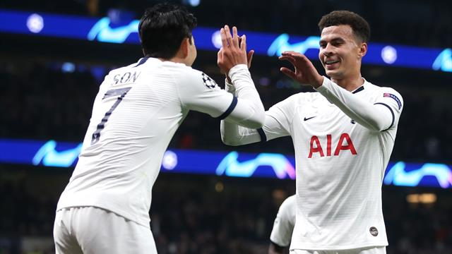 Spurs run rampant to ease pressure on Pochettino
