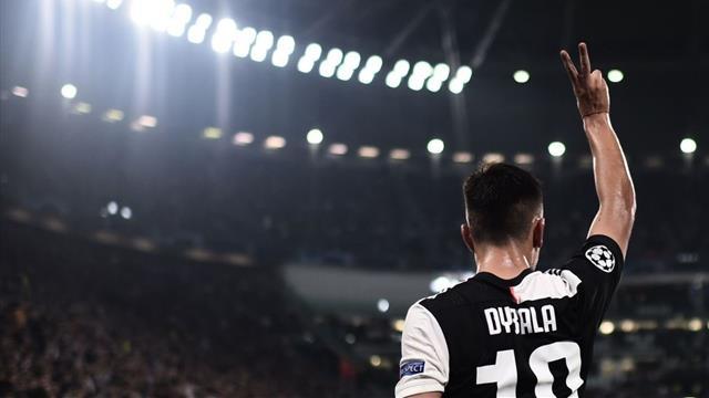 Dybala sort la Juve d'un mauvais pas