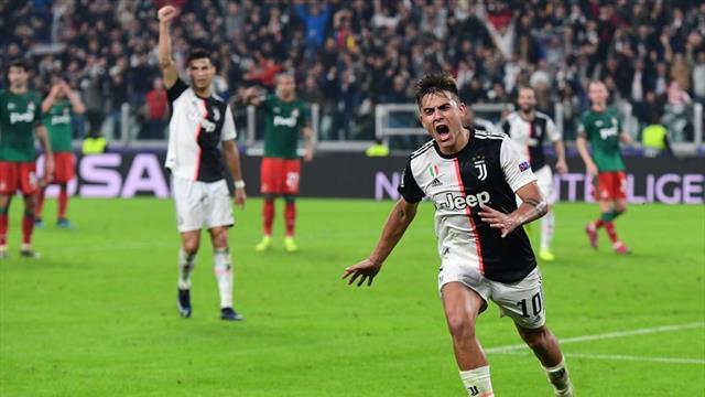 Round-up: Dybala saves Juve, Bayern edge five-goal thriller, Mbappe hat-trick for PSG