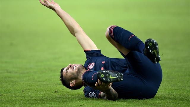 """""""Une forte douleur sur la face interne de la cheville"""" : le cas Hernandez inquiète à nouveau"""