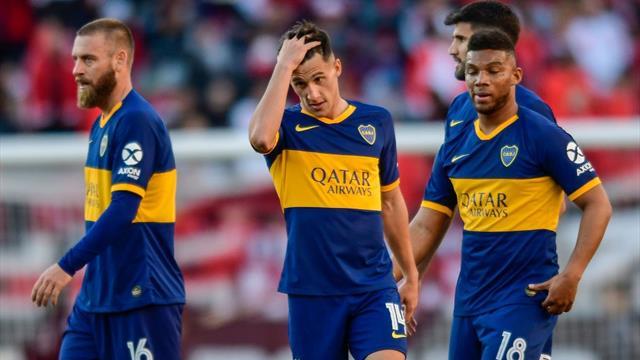 L'1-0 non basta, Boca eliminato dal River in semifinale; solo panchina per De Rossi
