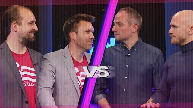 Fodboldquizzen, afsnit 2: Sebastian Stanbury & Martin Davidsen vs. Jesper Simo & Casper Høygaard
