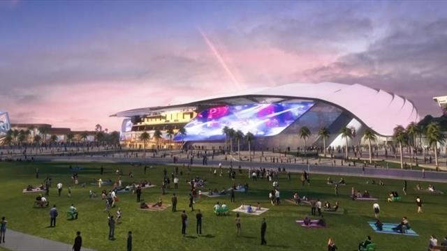 El espectacular estadio que tendrá el Inter Miami, el equipo de David Beckham en la MLS