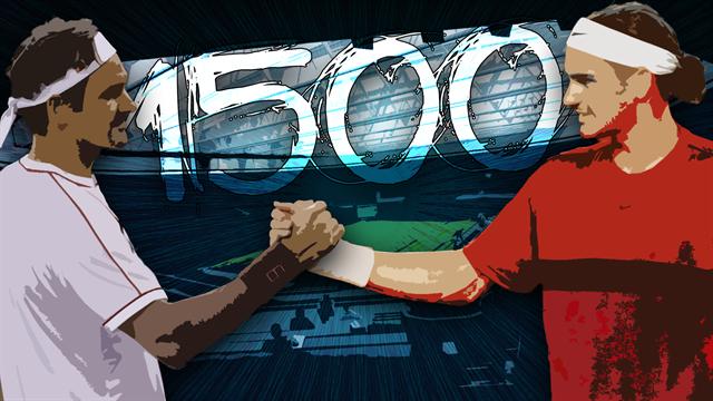 Roger Federer: tutto quello che c'è da sapere sulle 1500 partite di un campione eterno