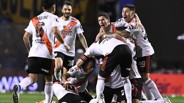 River lose at arch rivals Boca but reach Libertadores final