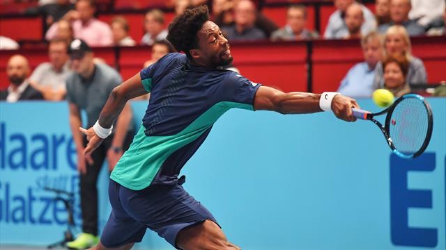 En souffrance et sur courant alternatif, Monfils s'en sort contre Novak