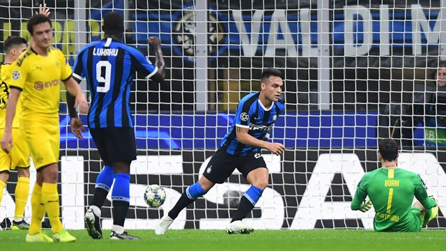 Martinez gives Inter win over Dortmund