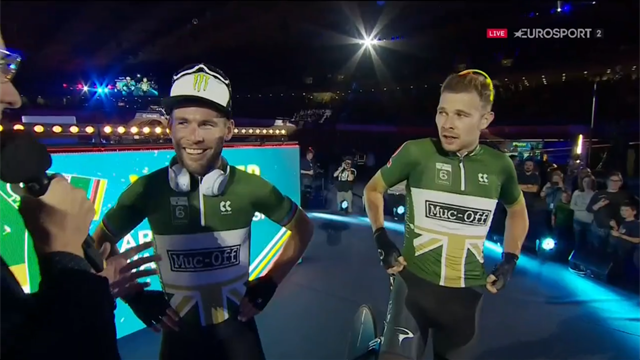 'This is why we race bikes!' - Cavendish and Doull react to win
