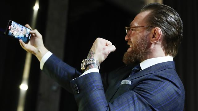 McGregor announces January UFC return - but refuses to name his opponent