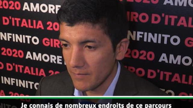"""Giro 2020 - Carapaz : """"Ce sera un Giro incroyable"""""""