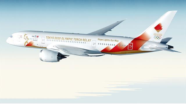 Así será el avión que trasladará la antorcha olímpica de Grecia a Japón