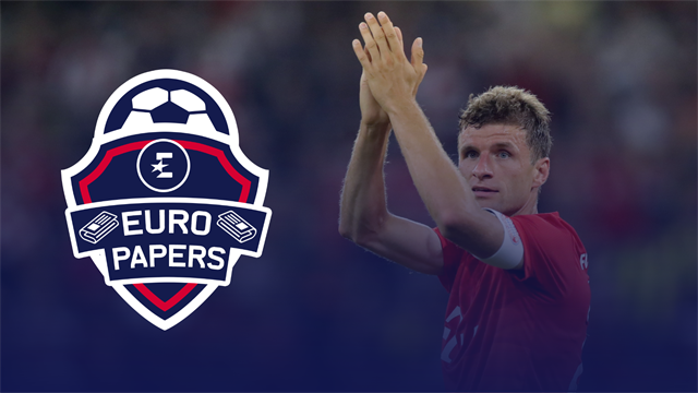 'United in hot pursuit for Muller... but Inter want him too' - Euro Papers