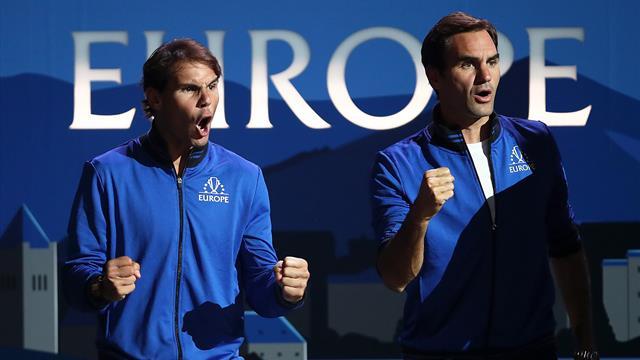 Федерер: «Если мои дети захотят поиграть в теннис, отправлю их в Академию Рафы»