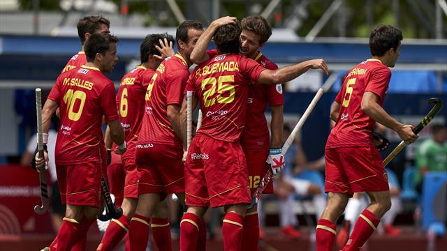 Preolímpico de hockey hierba: Heroica España salvando un 0-3 en contra ante Francia