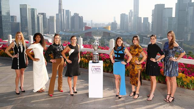 Finales de la WTA : Andreescu s'apprête à affronter une nouvelle idole