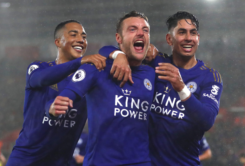 Youri Tielemans, Jamie Vardy ve Ayoze Perez, Southampton-Leicester