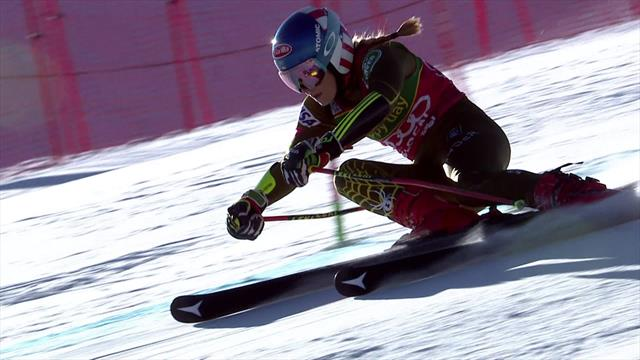 'This is a masterclass!' - Shiffrin produces storming first run of the season