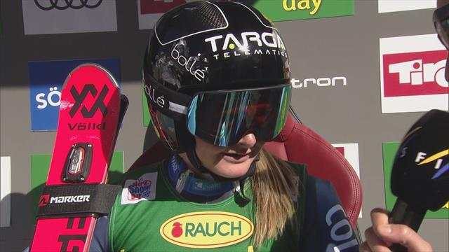 Robinson 'shocked' but thought the course would suit her