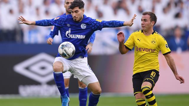 """""""Ein bisschen enttäuscht"""": Schalke verpasst Derby-Sieg gegen BVB"""