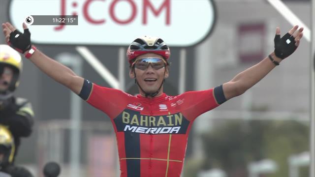 Arashiro beats Bernal, Roglic to win Saitama Criterium