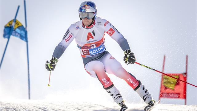 Suivez la Coupe du monde de ski alpin ce weekend en direct sur Eurosport 1 et Eurosport Player