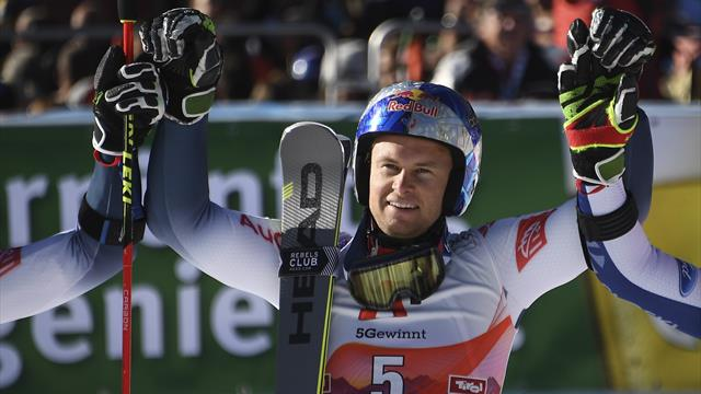Pinturault takes impressive GS win in first post-Hirscher race