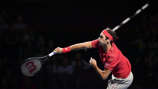 """Jouer à Bercy ? Federer """"ne sait pas si c'est une bonne idée"""""""
