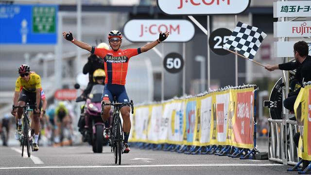 Bernal and Roglic make podium as Arashiro wins Saitama Criterium