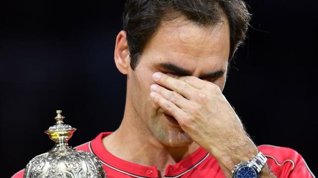Et Federer a fondu en larmes