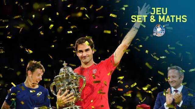 Pour son dixième sacre à Bâle, Federer a encore innové