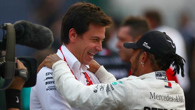 """Wolff: """"Hamilton in Ferrari? Lewis fa bene a valutare ogni opzione per la sua carriera"""""""