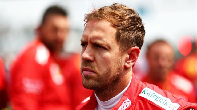 Vettel hits out at post-race celebration