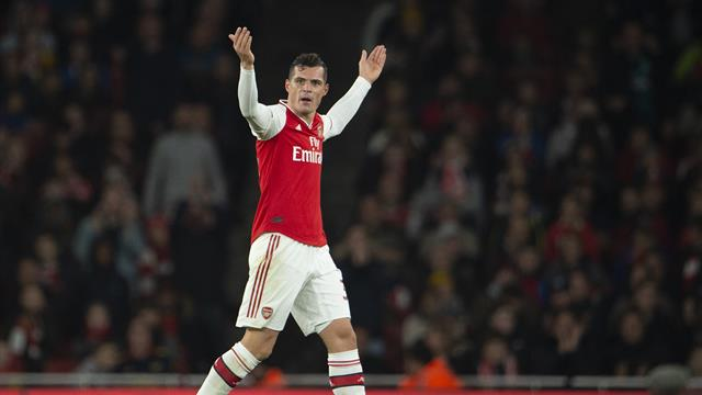 Granit Xhaka devastated amid Arsenal fan row - Unai Emery