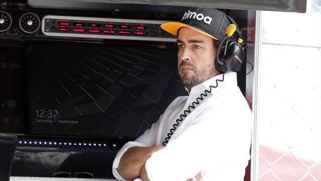 Le nom Alonso rend les cheveux sur leur cou hérissés — Marko