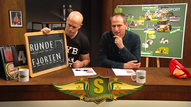 SuperligaHjørnet med Simo & Høygård, 14. runde