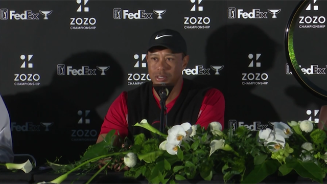 Tiger Woods targeting Tokyo Olympics