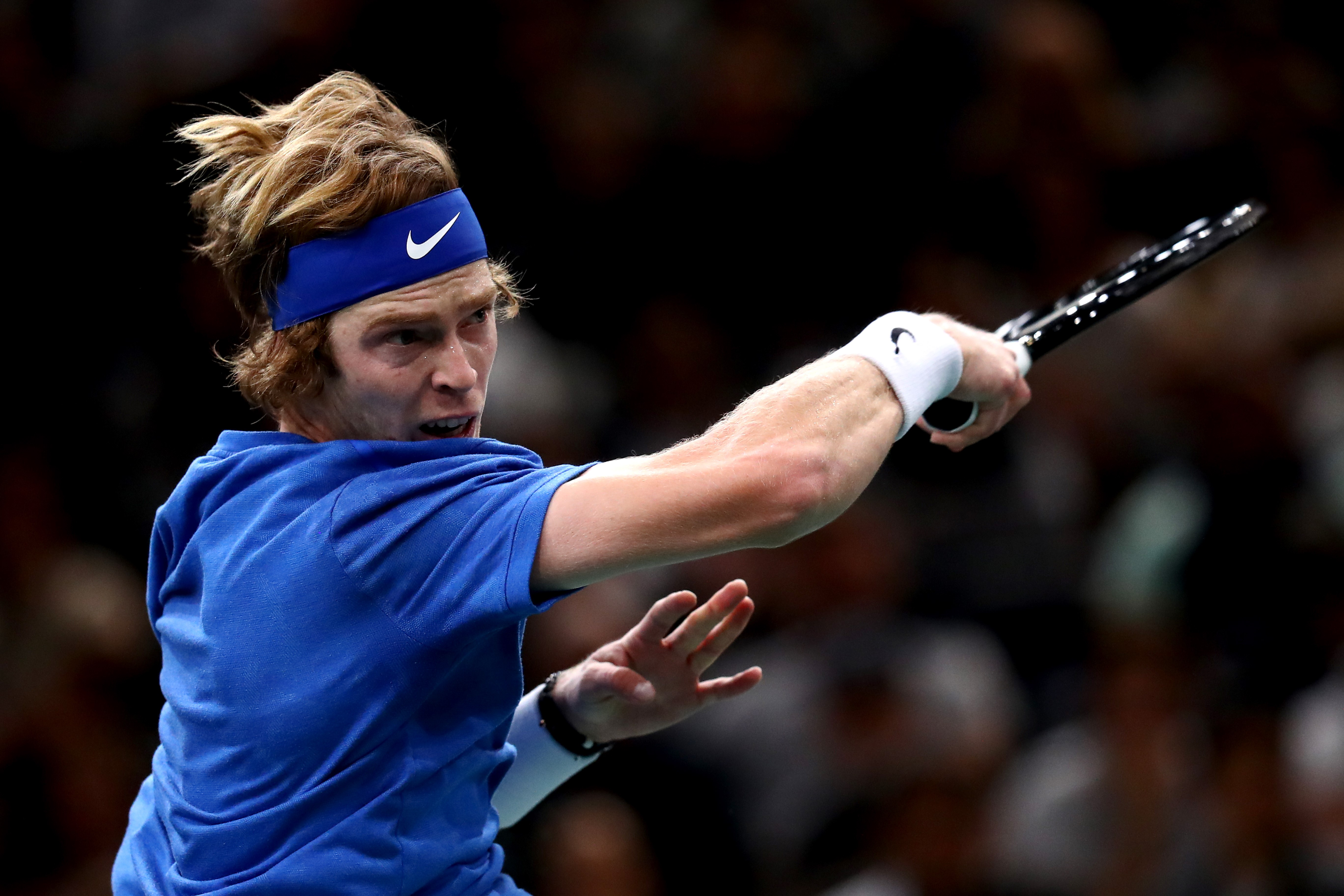 Andrey Rublev au Masters de Paris 2019