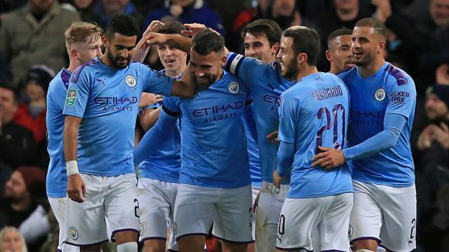 Manchester City und ein krasser Außenseiter im Viertelfinale
