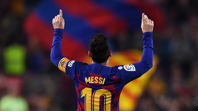 Месси догнал Роналду по хет-трикам в чемпионате Испании