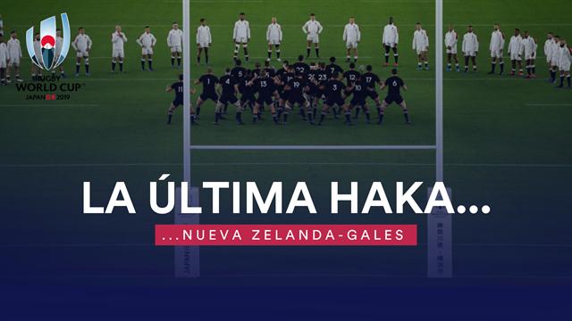 Copa del mundo de rugby: La última haka
