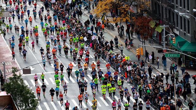 Corre con Eurosport el maratón de Nueva York 2019 Maratón