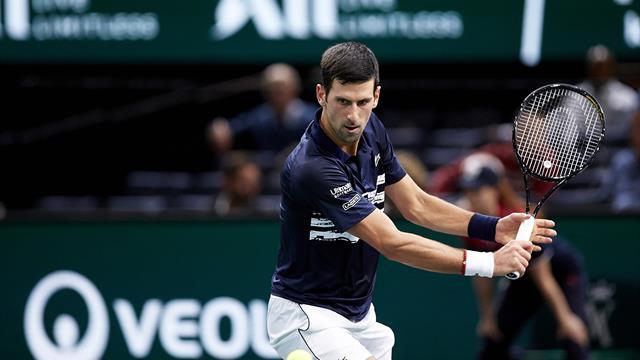 Djokovic thrashes Shapovalov to win Paris Masters