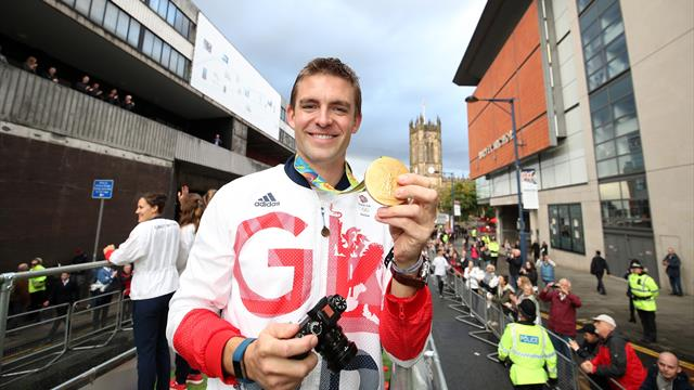 GB Olympic hero Reed paralysed from chest down after spinal stroke