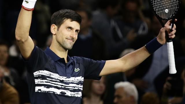 """Djokovic : """"Je suis sur la bonne voie"""""""