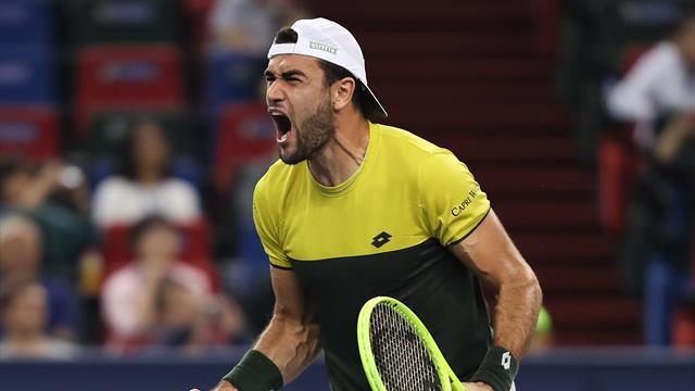 Tennis: Berrettini alle finali Atp. Terzo italiano dopo Panatta e Barazzutti