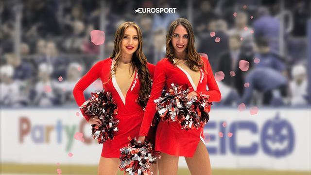 У «Спартака» лучшие айс-герлс. Красно-белые ангелы делают хоккей еще прекраснее