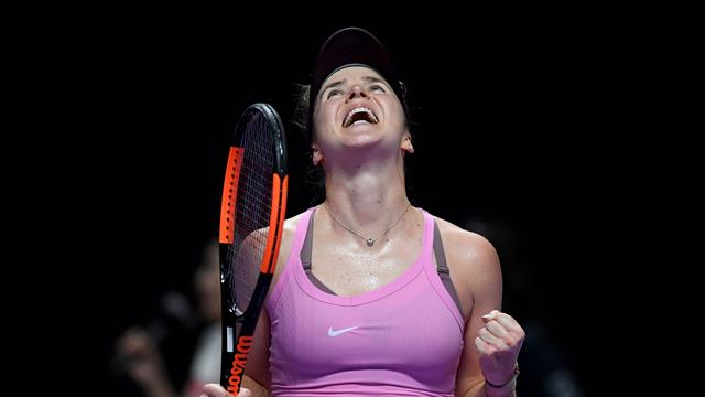 Svitolina through to WTA finals after win over Kenin