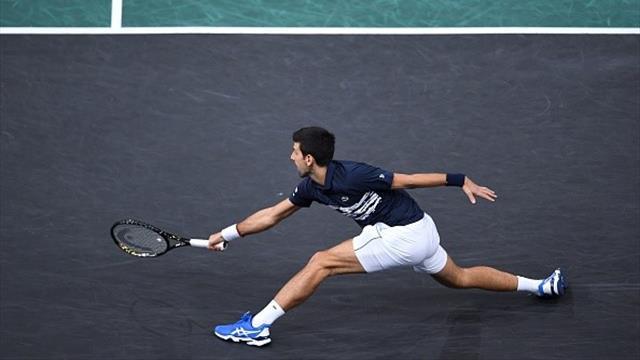 Machtdemonstartion! Djokovic fegt Tsitsipas vom Platz